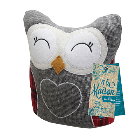Owl Heavy Weight Door Stop 24.5cm - A La Maison Bonningtons